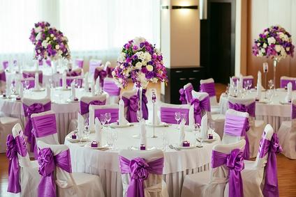 Stuhlschleifen lila