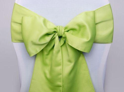 Stuhlschleife hellgrün