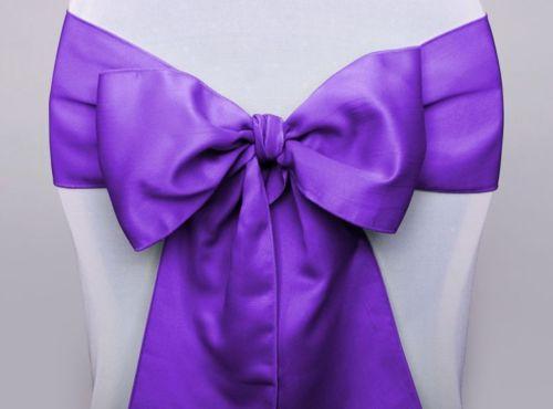 Stuhlschleife lila